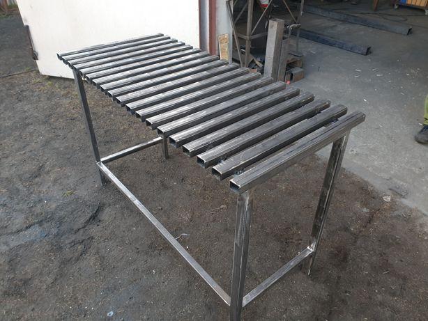 Stol spawalniczy warsztatowy garazowy regal slusarski stolik roboczy