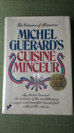 Livro de culinária / cozinha Michel Guerard's Cuisine Minceur