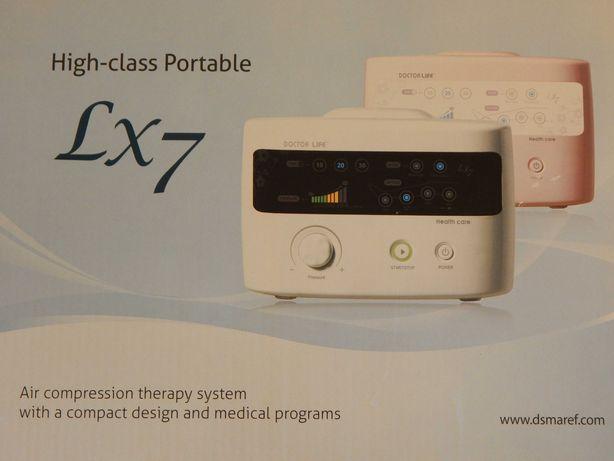 Aparat do masażu uciskowego sekwencyjnego LX7 + mankiet na nogę XL
