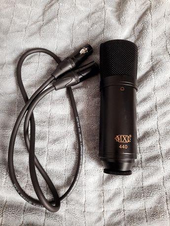 MXL mikrofon pojemnościowy studyjny+Scarlett Solo 3rd Gen