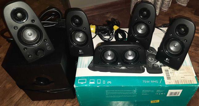 Logitech z506 акустическая система 5.1 150 W