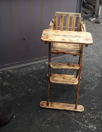 Продам, детский стульчик ручной работы