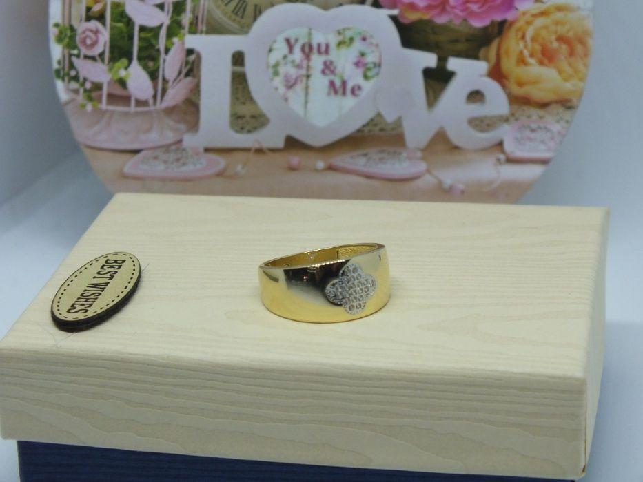 **Nowy złoty pierścionek 3,38g p.585-Lombard Stówka** Grudziądz - image 1