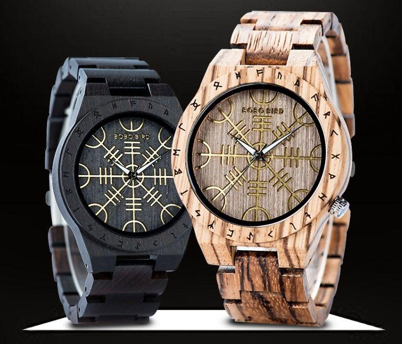 Męski zegarek drewniany BOBO + Box NA PREZENT Wrocław - image 1
