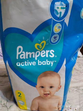 Памперси Pampers active baby 2, 54шт