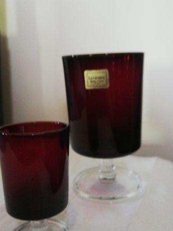 2 copos cristal d'arques