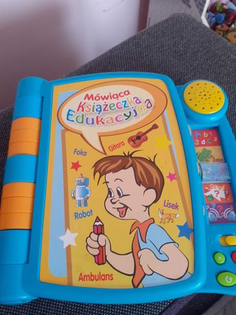 Książeczka edykacyjna dla maluszka