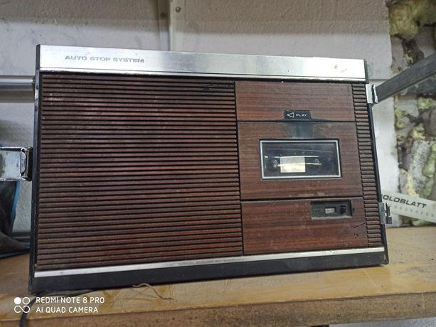 Radio magnetofon sanyo kaseciak