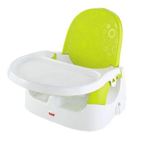 Fisher Price Яркий переносной стульчик для кормления малышей Fisher-Pr