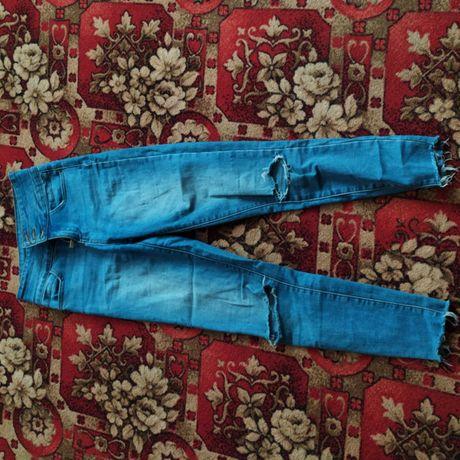джинсовые штаны. размер с
