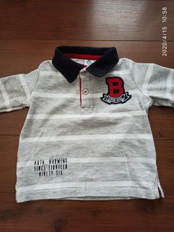 Bluzeczka bluzka 12 miesiecy bawelna