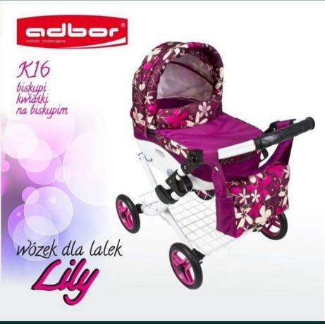 Коляска для кукол Adbor Lili