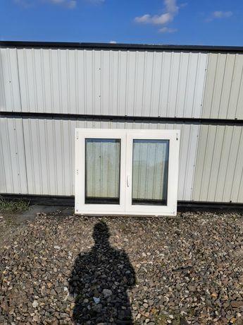 Okna 123x103 z Niemiec dwuskrzydłowe używane Dowóz cały kraj