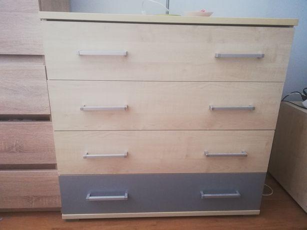 Komoda i dwie szafki