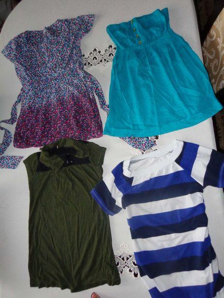 letnie bluzki ciążowe  xs zestaw