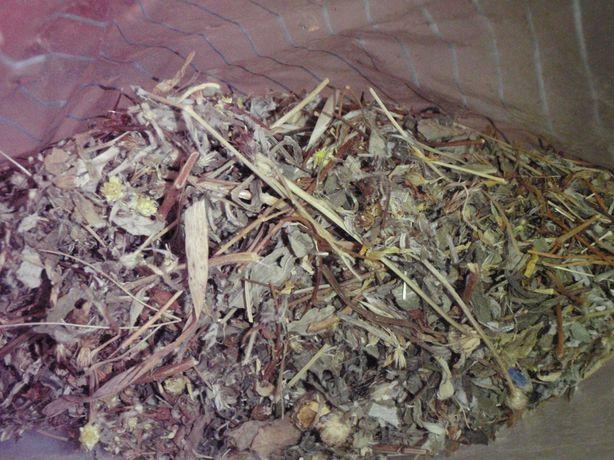 Mieszanka 7 ziół Herbata na lepsze trawienie - z zielarni waga ok. 70g