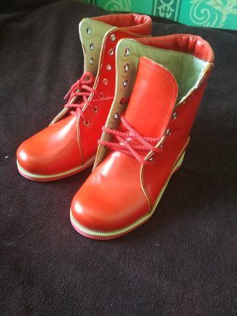 Ортопедические ботинки для девочки 29 размер/ортопедическая обувь