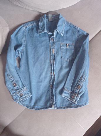 Koszula jeansowa zara