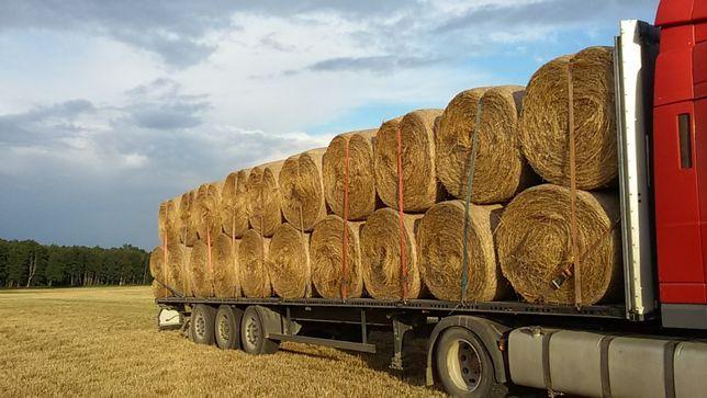 Transport ciężarowy- zboże słoma siano kukurydza