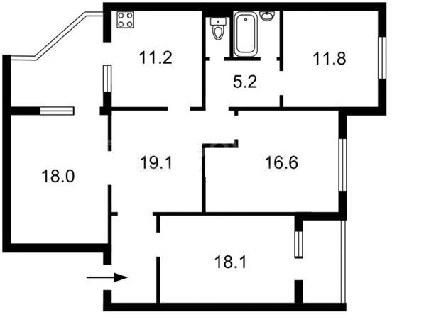Эксклюзив.Позняки, Пчёлки 2-Б.Дом 2008г. 116м.кв, 10эт, чистая продажа