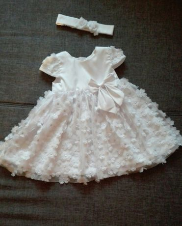 sukienka + opaska, buciki i bolerko