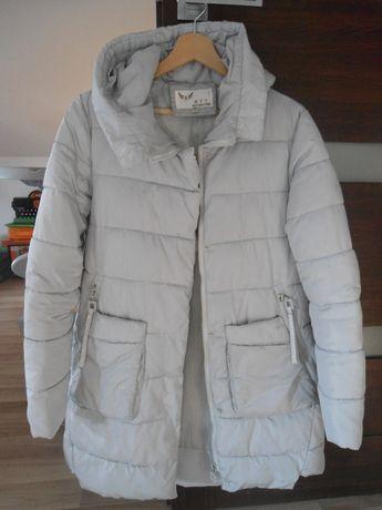 Kurtka damska, szara, pikowana, zimowa, r. M-38