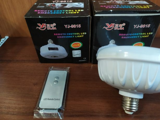 Энергосберегающая светодиодная лампа yajia yj-9815 с аккумулятором