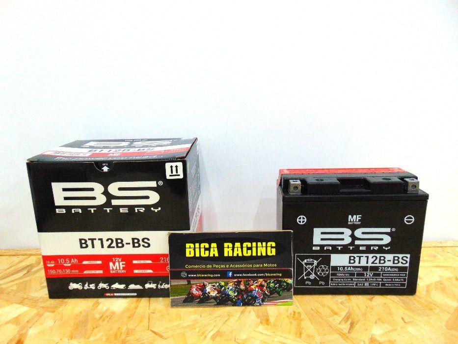 Bateria BS baterry BT12B-BS Yamaha R1 R6 Kawasaki Zx10 aprilia e outra