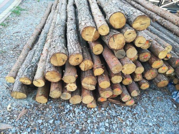 stemple (stęple) budowlane, drewniane, NOWE  2m, 3m, 4m itp. do 6m.
