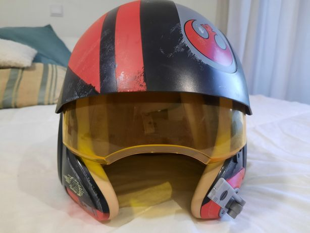 Capacete Star Wars: Poe Dameron Electronic X-Wing Pilot