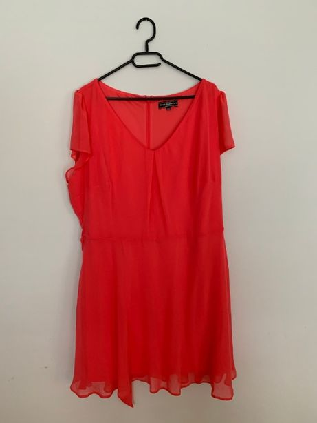 Sukienka malinowa r.46