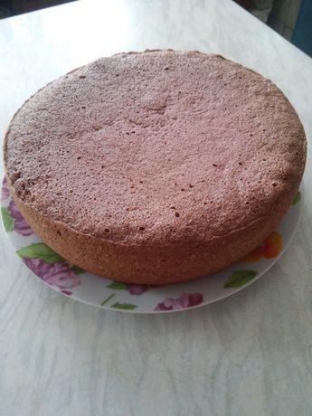 Бисквит заготовка под торт