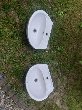 2 Umywalki, plus nowy syfon i sruby