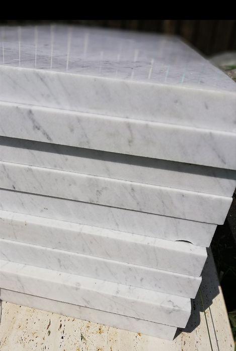 Marmur Bianco di Carrara 60x120x4 blat Poskwitów - image 1