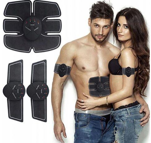 Elektrostymulator MIĘŚNI Brzucha biceps stymulator EMS 3x MOCNY