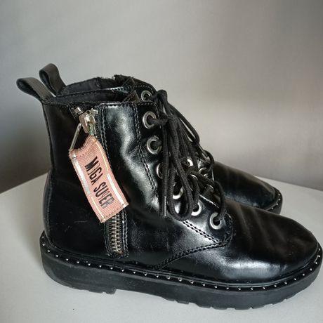 Buty skórzane Zara 33