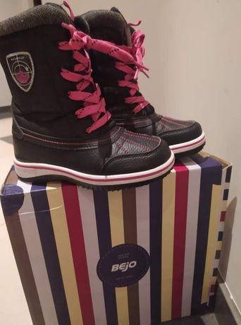 Buty zimowe dla dziewczynki rozmiar 31