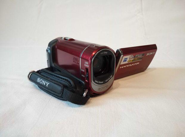 Kamera cyfrowa SONY DCR-SX30E czerwona