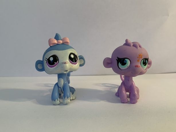LPS Littlest Pet Shop - figurki małpki