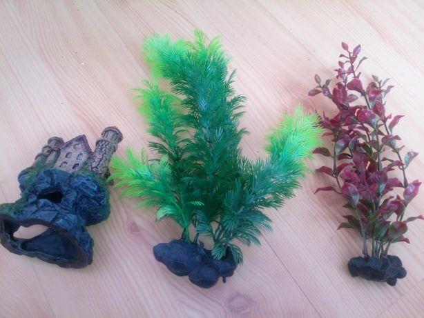 Akcesoria plastikowe do akwarium