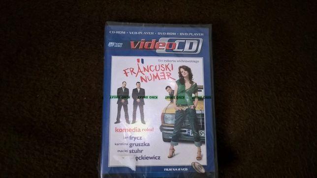 Francuski numer VCD nowy w folii