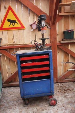 wózek narzędziowy gedore /szafka narzędziową z wiertka stołową