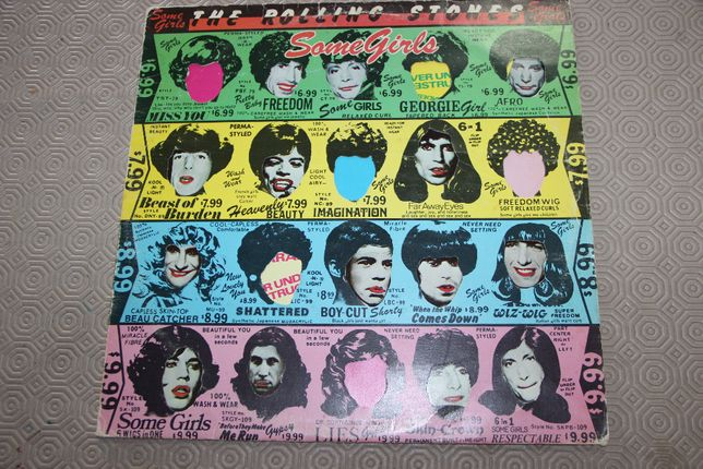 LP Rolling Stones - Some Girls - Promotone 1978