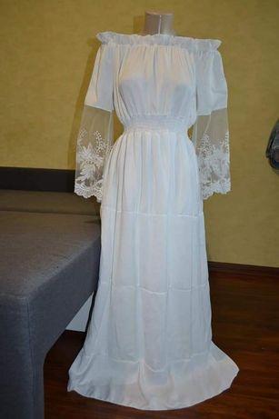 Белое,нарядное,свадебное платье