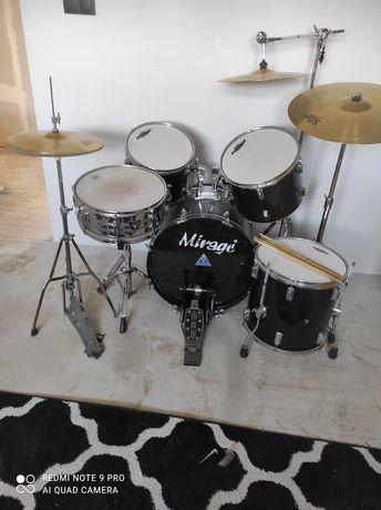 Perkusja +3 talerze