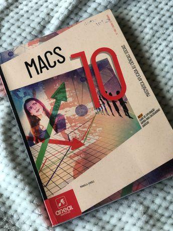 Manual e Caderno de Atividades MACS 10° ano Areal editores