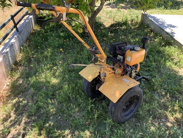 Tractor Moto-Enxada Arranque Electrico