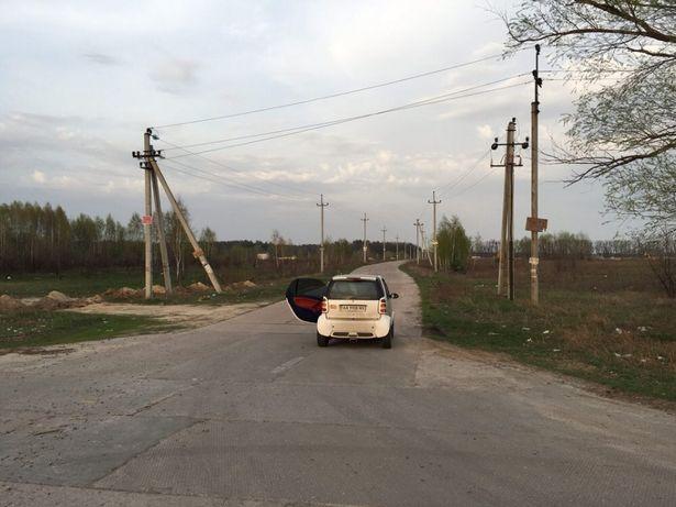 Участок в молодой берёзовой рощи 16 км от Киева(м Житомерская)