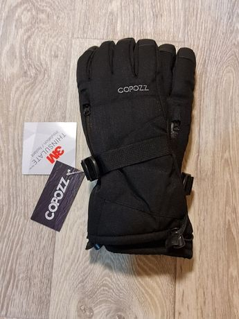 Зимние перчатки Copozz с мембраной и утеплителем Thinsulate 3M