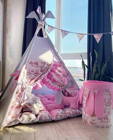 Вигвам, детский игровой домик, палатка, виг-вам